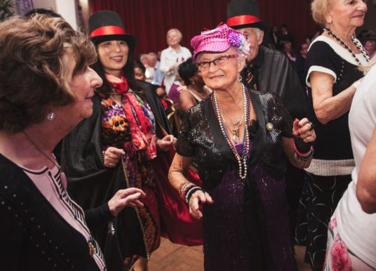 A Tea Party Rave for the Older Generation Helps Solve Isolation